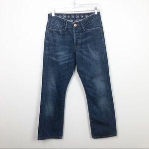 Earnest Sewn Fulton Bootcut Jeans Blue 30 x 33